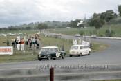 66756  - B. Arentz & B. Seton Car 16 - B. McPhee & B. Mulholland Car 22, Morris Cooper S  - Gallaher 500  Bathurst 1966 - Photographer Geoff Arthur