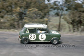 66757  - John French & Steve Harvey, Morris Cooper S  - Gallaher 500  Bathurst 1966 - Photographer Geoff Arthur