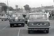66760  - Toyota Cronas on the Start Grid - Gallaher 500 Bathurst 1966 - Photographer Lance J Ruting