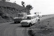 66765  - J. Smith & D. Gregory, Morris De Luxe - D. Geary & G. Hodge, Cortina 1500 - Gallaher 500 Bathurst 1966 - Photographer Lance J Ruting