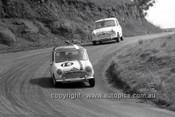 66766  - Ken Stacey & Mal Henderson, Morris Cooper  - Gallaher 500 Bathurst 1966 - Photographer Lance J Ruting