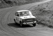 66772  - Bill Burns & Alex Lazich, Fiat 850 - Gallaher 500 Bathurst 1966 - Photographer Lance J Ruting