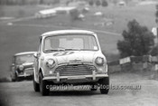 66783  - Frank Matich & Frank Demuth, Morris Cooper S - Gallaher 500 Bathurst 1966 - Photographer Lance J Ruting