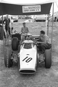 666003 - Dennis Marwood, Cooper Climax - Tasman Series  Warwick Farm 1966 - Photographer Adrien Schagen