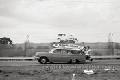 63589 - Bill Patterson's EH Holden Flagies Transporter - Sandown 1963 - Photographer Peter D'Abbs