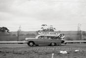 63589 - Bill Patterson's EH Holden Flagies Transporter - Sandown 1963 - Photographer Peter D'Abbs