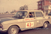 64977 - 1964 Ampol Trial - Charlie Hosoya, Toyota Crown - Photographer Ian Thorn