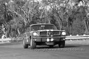 65113 - Norm Beechey, Ford Mustang  - Warwick Farm 1965- Photographer Bruce Wells