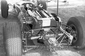 66613 - Jim Clark Lotus 39 Climax -  Tasman Series  Warwick Farm 1966 - Photographer Bruce Wells