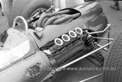 66616 - Graham Hill - BRM -  Tasman Series  Warwick Farm 1966 - Photographer Bruce Wells