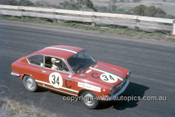 67766 - David Bye / Lynn Brown Fiat 850 - Gallaher 500 Bathurst 1967 - Photographer Geoff Arthur