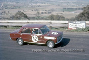 67771 - Bill Tuckey & MaxStahl, Fiat 124  - Gallaher 500 Bathurst 1967 - Photographer Lance Ruting