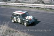 67774 - Mal Brewster / Bob Skelton Morris Cooper S  - Gallaher 500 Bathurst 1967 - Photographer Geoff Arthur