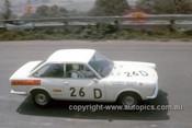 68759  -  Bill Tuckey / Allan Grice Fiat 124 Sport -  Hardie Ferodo 500 Bathurst 1968 - Photographer Geoff Arthur