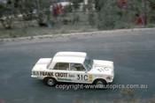 68761  -  Bob Muir / Gary Cooke Fiat 125 -  Hardie Ferodo 500 Bathurst 1968 - Photographer Geoff Arthur