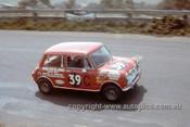 68768  -  Rick Radford / David Seldon Morris Cooper S -  Hardie Ferodo 500 Bathurst 1968 - Photographer Geoff Arthur