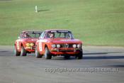 75062 - Christine Gibson & John Freanc, Alf Romeo - ATCC Oran Park 1975