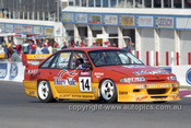 94782  -  Stuart  McColl  Peter Gazzard  Commodore   VP  - Tooheys 1000 Bathurst 1994 - Photographer Marshall Cass