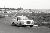 61731 - Bob Jane & Harry Firth, Mercedes Benz 220SE - Armstrong 500, Phillip Island 1961 - Photographer Peter D'Abbs