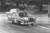 56001 - Len Lukey & Norm Beechey, Ford Customlines - Albert Park 1956