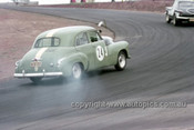 63030 - Graham Gregory, Holden FX, - Oran Park 1963 - Anne Blackwood Collection