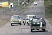 64784  -  R. Skelton / P. Ismay - Holden EH 179 & R. Hodgson / J. French Ford Cortina GT -  Bathurst 1964 - Photographer Simon Brady