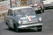 64787  -  Ian (Pete) & Leo Geoghegan, Cortina MK1 GT -  Bathurst 1964 - Photographer Simon Brady