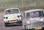 64790  -  C. Smith / B. Maher  Morris Cooper & R. Holden / K. Pascal, Renault R8-  Bathurst 1964 - Photographer Simon Brady