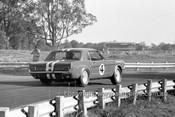 65115 - Norm Beechey, Ford Mustang  - Warwick Farm 1965- Photographer Bruce Wells