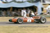 65562 - Graham Hill, Brabham BT11A Climax - Tasman Series   Warwick Farm 1965