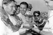 65568 - Bruce McLaren Cooper Climax & Jim Clark Lotus 32B - Tasman Series   Longford 1965