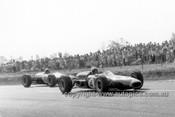 65569 - Jack Brabham Brabham BT11A Climax & Bruce McLaren, Cooper Climax - Tasman Series   Longford 1965