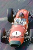 65570 - Graham Hill, Brabham BT11A Climax - Tasman Series   Longford 1965