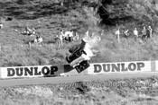 66091 - Bob Jane's Spectacular Crash, Ford Mustang - Catalina Park Katoomba 1966