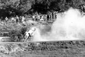 66092 - Bob Jane's Spectacular Crash, Ford Mustang - Catalina Park Katoomba 1966