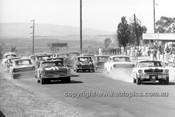 66094 - Ian Geoghegan Mustang & Norm Beechey Chev Nova - Bathurst 1966
