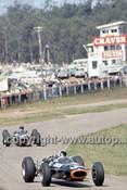 66629 - Jackie Stewart & Graham Hill  BRM P261 -  Tasman Series,  Lakeside 1966