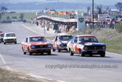 73769  -  George Garth / Bruce Stewart, ToranaLC GTR & Chris Heyer / Peter Mill, Subaru GSR & John Lord & Peter Janson, Holda Civic-  Hardie Ferodo 1000  Bathurst 1973