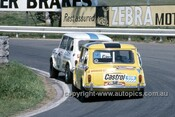 73800  - Gary Leggatt / Bob Webb & Lynn Brown Paul Hamilton, Morris Cooper S - Hardie Ferodo 1000  Bathurst 1973