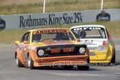 82075 - John Anderson, Datsun & Ken McGann, Escort - Oran Park 1982 - Photographer   Lance J Ruting