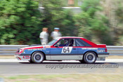 84080 - Laurie Nelson, Ford Mustang - 1984 Sandown - Photographer Peter D'Abbs