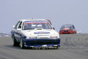 87053 - Allan Moffat & John Harvey, Commodore VL - DiJon France 1987 WTCC