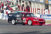 94791  - John Trimbole / Garry Waldon  Commodore   VP  - Tooheys 1000 Bathurst 1994 - Photographer Marshall Cass