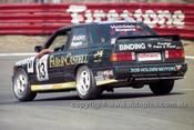 96741 - Bob Holden & Dennis Rogers, BMW E30 - Bathurst 1996 - Photographer Marshall Cass