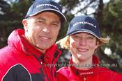 203043 - Peter Brock & Anne Gigney, Holden Rodeo - Australian Safari 2003