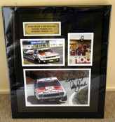 "199 - P. Brock & J. Richards Bathurst 1979 - Signed by Both Drivers A Framed & Double Matted Collection of Three Photos from the 1979 Hardie Ferodo 1000 -  Frame Size 23"" x 17"" (540mm x 440mm)."