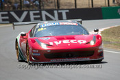14003 - P. Edwards / J. Bowe / C.Lowndes / M. Salo - Ferrari F458 Italia - Winner - 2014 Bathurst 12 Hour  - Photographer Jeremy Braithwaite