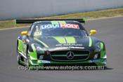 14005 - W. Davison / J. Brocq / G. Crick - Mercedes  SLS AMG GT - 2014 Bathurst 12 Hour  - Photographer Jeremy Braithwaite