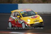 14021 - M. Cherry / M.Campbell / L. Ellery - Fiat Abarth 500 - 2014 Bathurst 12 Hour  - Photographer Jeremy Braithwaite