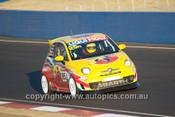 14030 - P. Stokell / T. Hagon / J. Dowling /C. Campbell - Fiat Abarth 500 - 2014 Bathurst 12 Hour - Photographer Jeremy Braithwaite